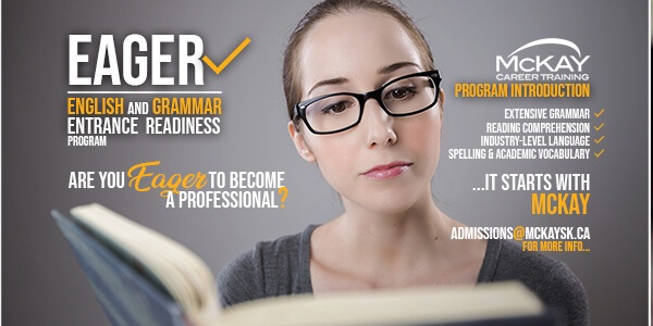 EAGER   English and Grammar Entrance Readiness